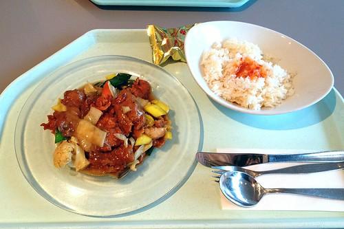 Seelachs in Kokosmilchsauce / Coalfish in coconutmilk sauce