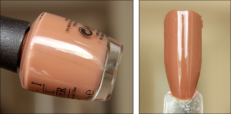 OPI inside the isabelletway swatch
