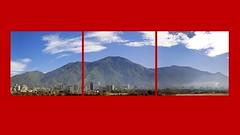 Cerro el Ávila impreso en 3 paneles.