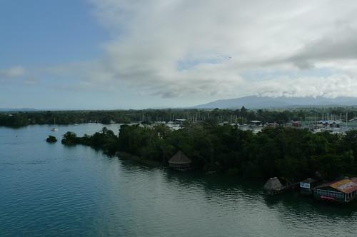 View from Bridge - Rio Dulce, Guatemala