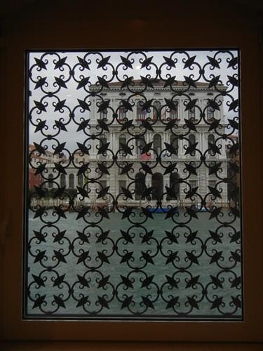 DSCN2902 _ View of Grand Canal from Collezione Peggy Guggenheim, Palazzo Venier dei Leoni, Venezia, 15 October
