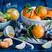 Tangerines for breakfast: fresh and juicy by The Little Squirrel