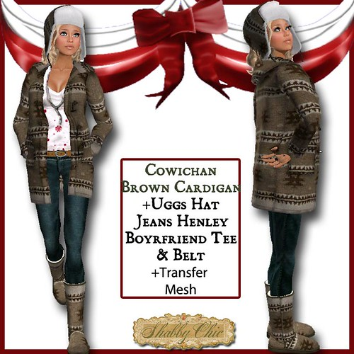 Shabby Chic Brown Cowichan Outfit by Shabby Chics