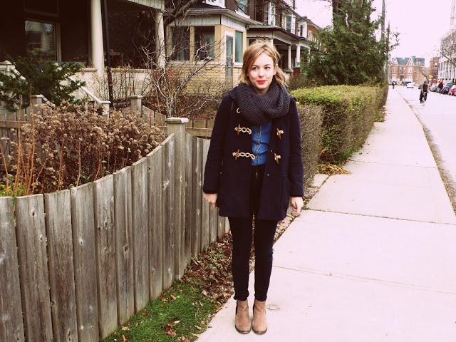 home for the holidays: alex and meaghan of larkspur in toronto