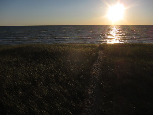 lake water landscape path michigan lakemichigan goodhart