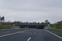 Autoroute et tunnel au Luxembourg