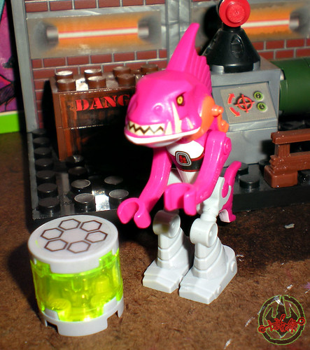 "LEGO Teenage Mutant Ninja Turtles :: ""Stealth Shell in Pursuit"" ; FISHFACE i  (( 2013 ))"