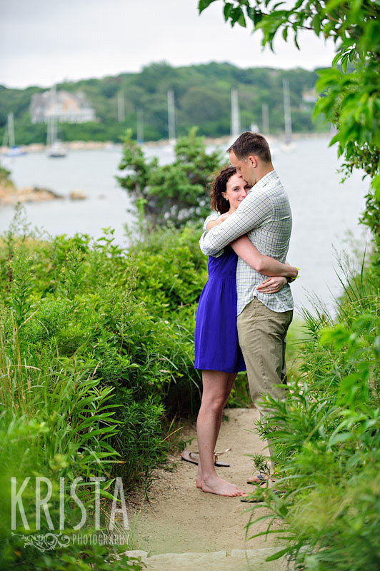 Falmouth, MA engagement session