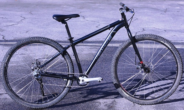 redline d600></a></p> <p>I picked up this matching Redline Monocog fork that was used only once by the previous owner. The OEM fork weighed 6lbs! The rigid fork only weighs 3lbs.<br /> <img src=