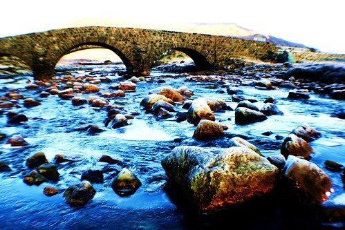Telford Bridge over Sligachan River, Skye