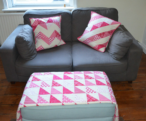 Christmas Quilt & Cushions