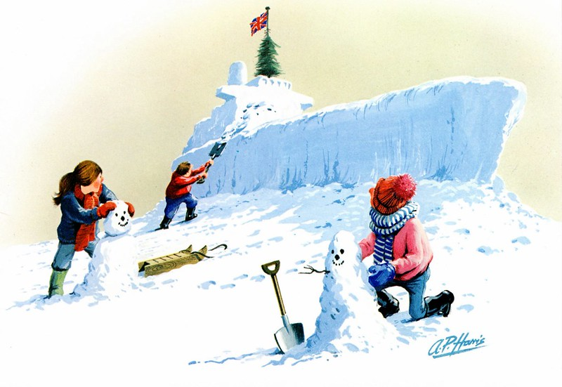 British Shipbuilders Christmas Card