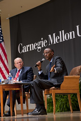 Paul Kagame, President of the Republic of Rwanda, Visits Carnegie Mellon UniversSity
