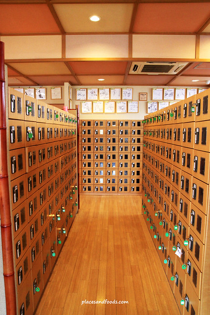 蔵前温泉さらさのゆ shoe lockers