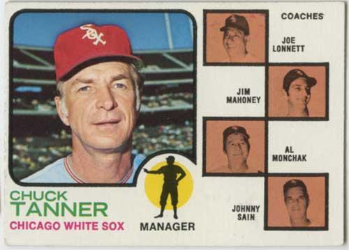 1973 Topps Chuck Tanner