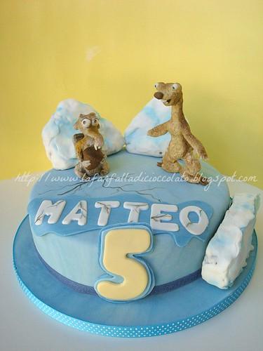 la farfalla di cioccolato torta l 39 era glaciale ice age cake. Black Bedroom Furniture Sets. Home Design Ideas