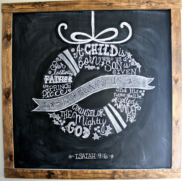 xmaschalkboard12 044
