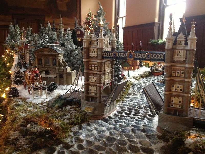 Cincywhimsy St Francis Seraph Christmas Village