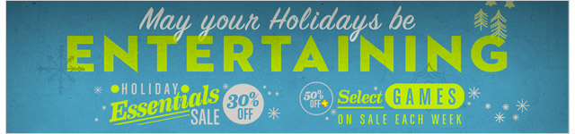 Holiday Essentials Banner