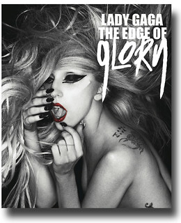 Lady Gaga Poster – Edge of Glory Promo  - Poster available for sale at ConcertPoster.Org full link below