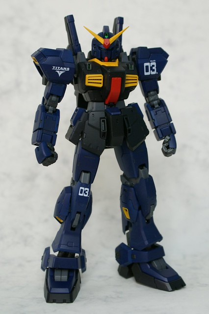 Real Grade 1/144 - RX-178 Gundam Mk.II - TITANS - Completed 5 -