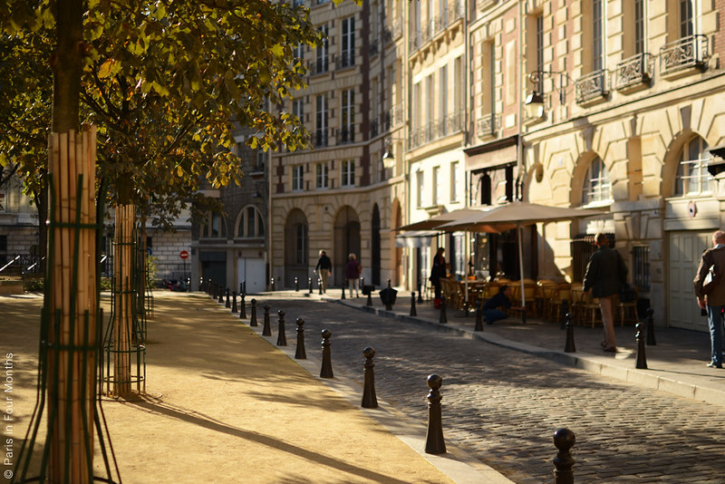 Place Dauphine by Carin Olsson (Paris in Four Months)