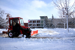 winter, snow, snow removal, snowplow, snow blower,