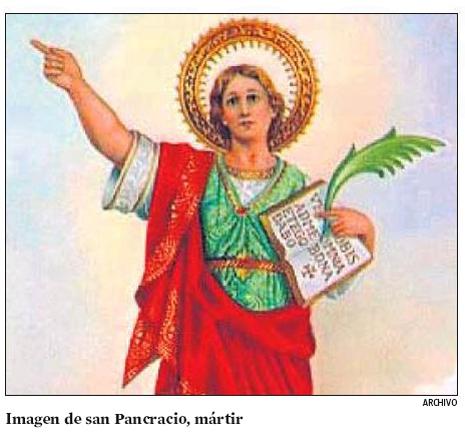 12l23 LV San Pancracio mártir utilizado por LV para hablar de AMas Uti 465