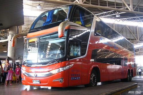 Pullman Bus | Terminal San Borja | Marcopolo Paradiso 1800 DD G7 / FFTP98