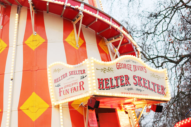 helter skelter Winter Wonderland Hyde Park London