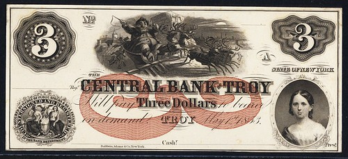 central bank of troy santa lazy three
