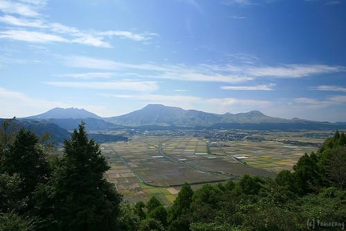 Shiroyama view spot