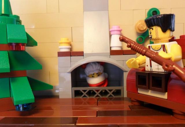 looks like santa came across a problem...