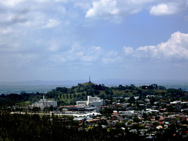 One Tree Hill from Mt Eden