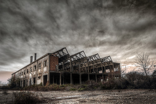 Textile factory IV, #1 - Under two suns by ilcorvaccio
