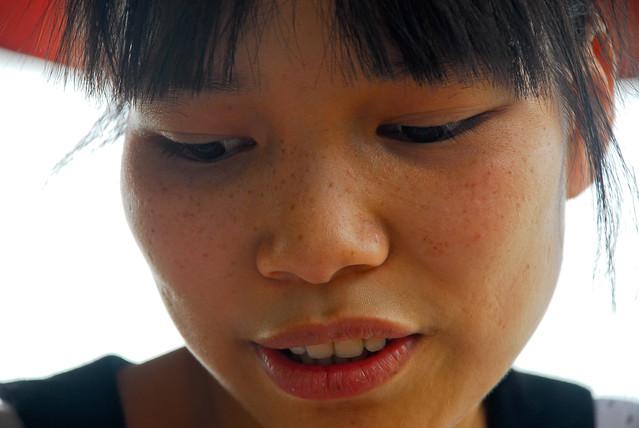 Saigon 2012 meisje