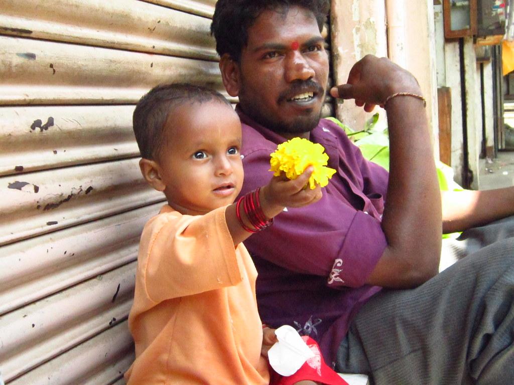 April - Mysore market, India
