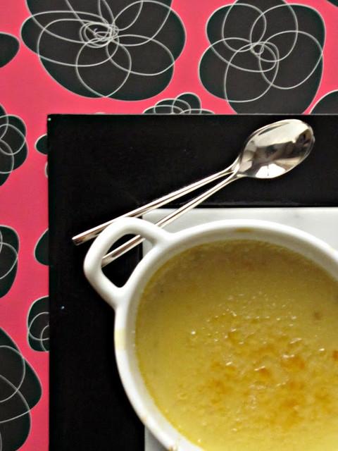 Crème Brulée aux Poireax