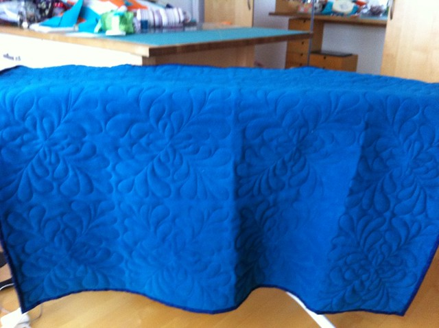 Bento box quilt back