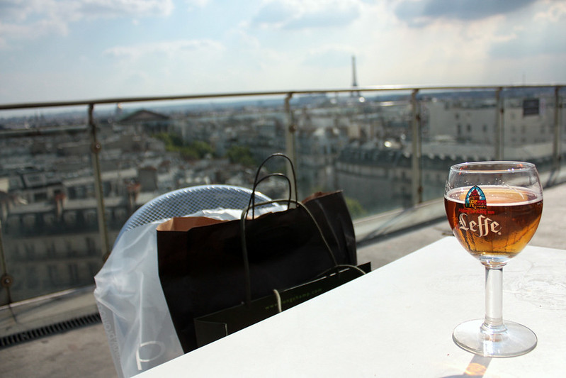 Leffe with a view