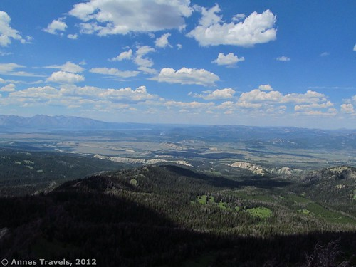 Greater Yellowstone from Mount Leidy, Bridger-Teton National Forest, Wyoming