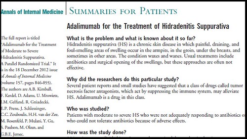 Joel Schlessinger MD administers study on the treatment of Hidradenitis Suppurativa
