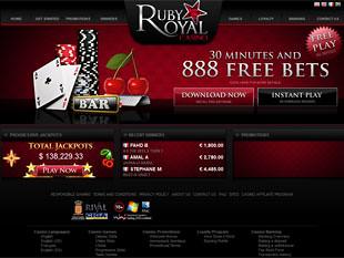 Ruby Royal Casino Home