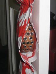 Hanging belt storage