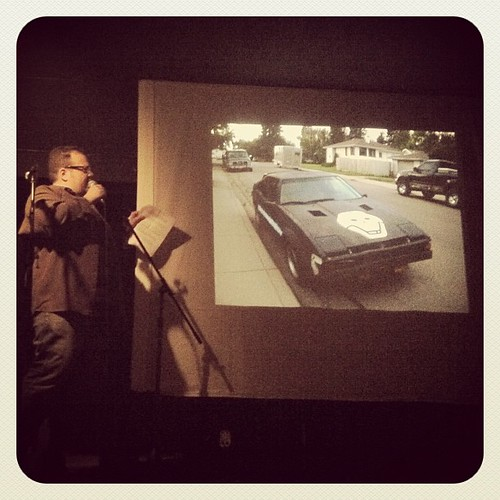 8319908154 ae0848d4a2 Dave @Delibato giving Calgary the gears at #pknTO. Hilarious.