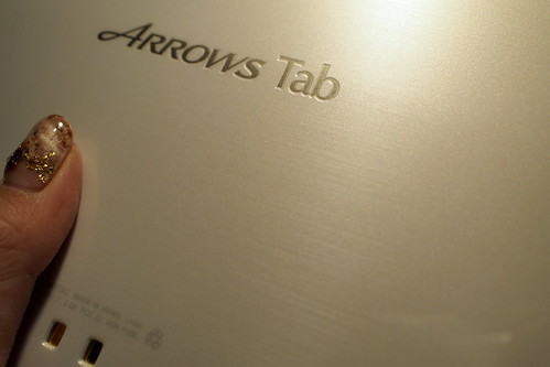ARROWS Tab F-05E