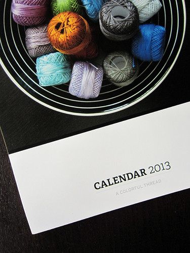 a Colorful Thread calendar