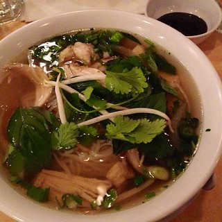 Deck the table with chicken souuuuup!  Pho GaGaGaGa GaGa Ga Ga!