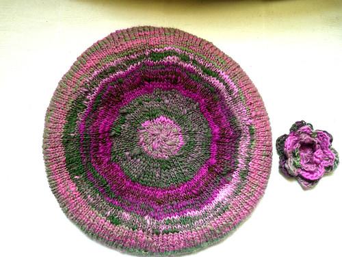 Pink beret top