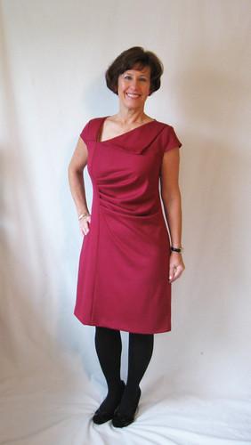 Lekala dress front 2